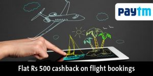 Paytm Flight Cashback Booking