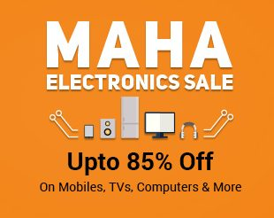 Upto 85% off on Mobiles, TVs, Computers & More