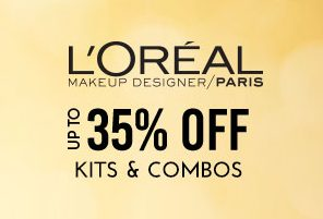Upto 35% off on Loreal Kits & Combos