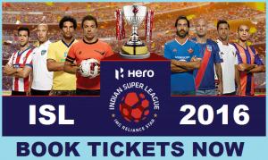 ISL Tickets 2016